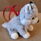 Сумочка-игрушка собачка или серый волчонок фирмы Gymboree