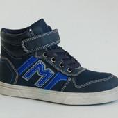 Демисезонные ботинки YTOP (87 М) синие
