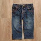 Стильные джинсики Mamas&Papas, размер 6-9 месяцев, будут дольше