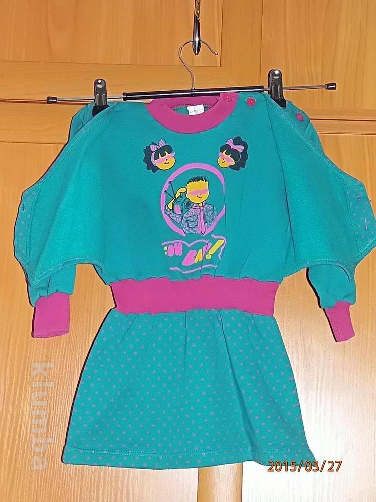 Теплое платье на девочку 2-3года фото №1