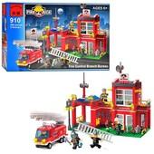Конструктор Пожарные спасатели, 910 Brick, Брик