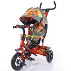 Велосипед трехколесный Tilly Trike T-351-7  с надувными колесами