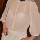 Нежная и красивая блуза Miss Selfridge, размер 10