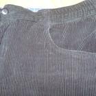 Мужские вельветовые штаны большого размера