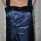 Атласная маечка красивого тёмно-синего цвета