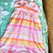 H&M Тонкий сарафанчик с интересными бретелями для девочки 11 - 13 лет ( 152)