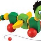 Каталка деревянная Дракончик от  Мир деревянных игрушек