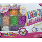 Резинки для плетения браслетов Colorful Loom bands 2000 шт.