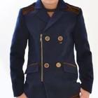 Стильное кашемировое пальто для мальчика