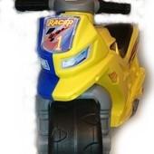 Мотоцикл, толокар, мотоцикл для толкания ногами 501 Орион, 7 цветов! Есть музыкальные!