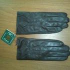 мужские кожаные утепленные перчатки 12 р