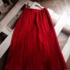 Юбка Christian Dior красная в пол