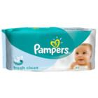 Детские влажные салфетки Pampers Baby Fresh clean, 64 шт! Днепропетровск!