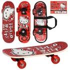Скейтборд/скейт детский мини Bambi Hello Kitty/ хеллоу китти: 43х13см