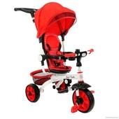 Детский трёхколёсный велосипед 128 цвета в ассортименте