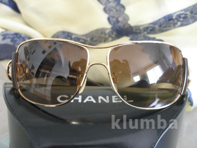 Очки chanel солнцезащитные  оригинал италия фото №1