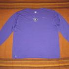 Nike FitDry (3XL) спортивная кофта мужская  фиолетовая