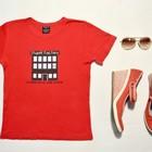 Красная футболка, М