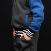 Теплый спортивный костюм для мальчика 0079 (3 цвета)