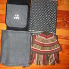 Мужские шарфы, шапка, комплект