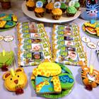 Детский День рождения Сафари, оформление, декор