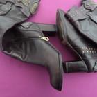 Женские кожаные фирменные сапоги Laura Berti ,37 размер