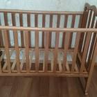 продаю кроватку из натурального дерева защита в подарок
