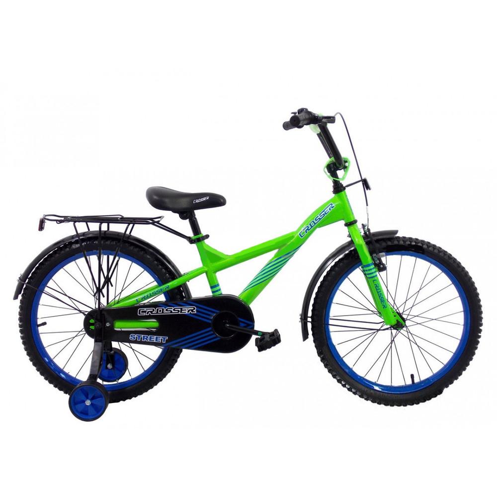 Кросер стрит 14 16 18 20 crosser street велосипед двухколесный детский фото №1