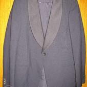 Пиджак -смокинг,р.48-50,тёмно-синий.
