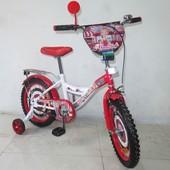 Детский двухколесный велосипед мультгерои 18