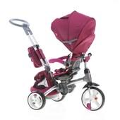 Велосипед-коляска 6 в 1 Modi Crosser фиолетовый (T 500 (al) Violet) надувные колеса, фара