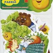 Мягкие пазлы 4 в наборе сказки от  Vladi Toys івасик телесик солом'яний бичок репка