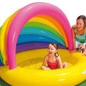 Детский надувной бассейн Intex 57420 Радуга