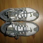 кожаные кроссовки Nike , стелька 20.5 см