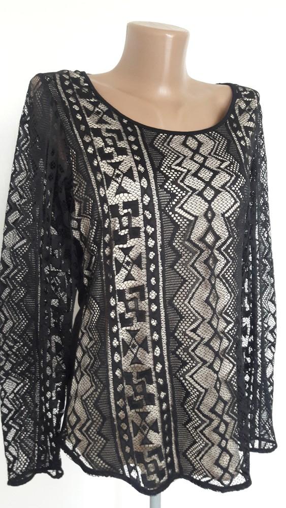 Красивейшая гипюровая  блузочка р.12 фото №1