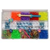Цена снижена!!! Набор для плетения Rainbow Loom Bands 2200 резиночек