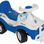 Каталка-толокар детская машинка Джипик Полиция