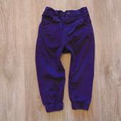 Яркие фиолетовые штаники Matalan, размер 12-18 месяцев, будут до 2-х лет. Состояние отличное