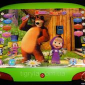 Планшет Маша и Медведь 3D - Сказки, песни, повторюшка, новая версия - с разноцветными мерцающими лам