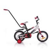 Азимут Стич 12  с родительской ручкой велосипед двухколёсный Azimut Stitch