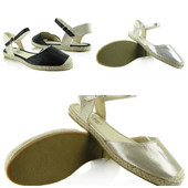 золотистые сандалии женские