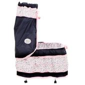 Кровать Романтик 51014 кроватка кукольная для пупсов с балдахином