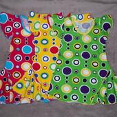 Новые летние платья для девочек на рост 92-110см