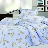 Постельное белье детское – Ранфорс Жирафка 5507