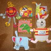 Мягкие развивающие книги, книги- подвески, книги для кукольного театра