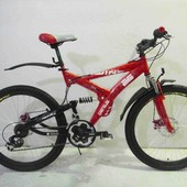 Азимут Винд 24 велосипед Azimut Wind двухподвес дисковые тормоза