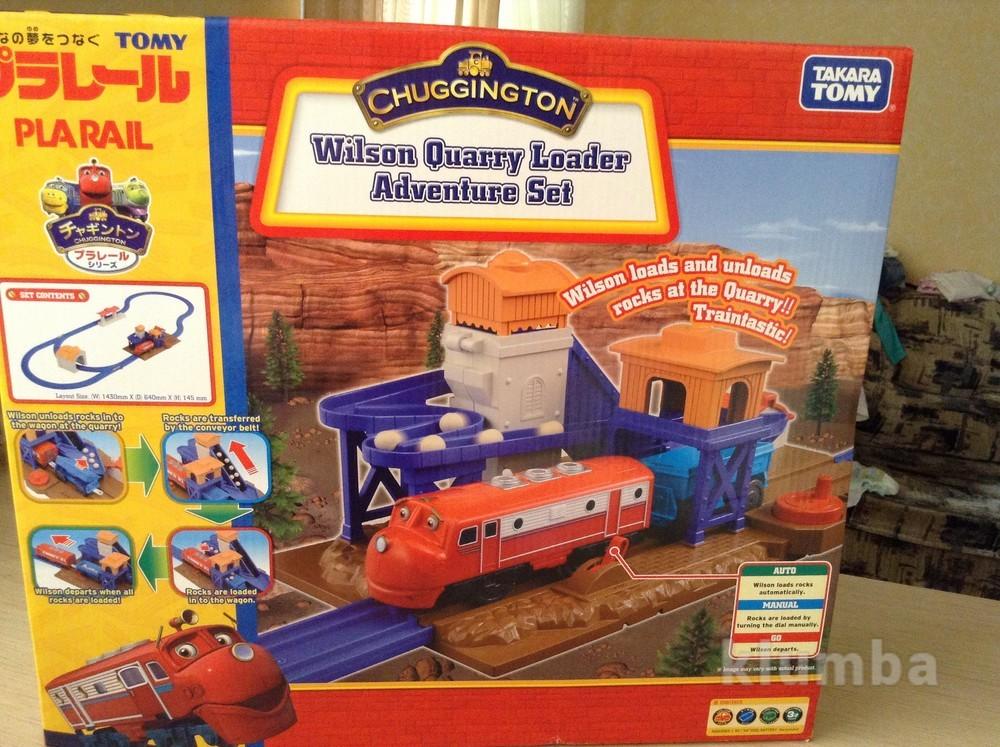 Интерактивная железная дорога chuggington фото №1