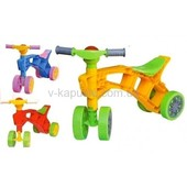 Ролоцикл-каталка. Беговел для маленьких,4 колеса.От 1,3мес.