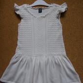 Вязаное платье babyGap на девочку 3 года, 100 см