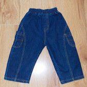 Акция!Фирменные джинсы для ребенка 12-18 месяцев, 86 см